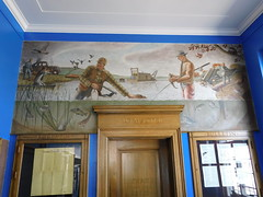 Emmetsburg, Iowa Post Office Mural