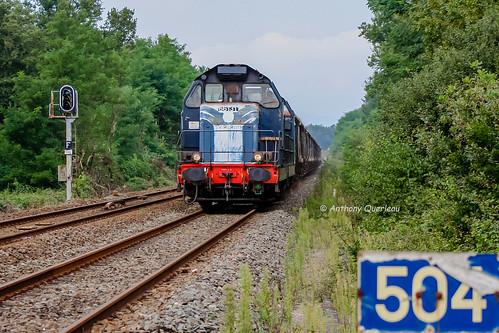 18 septembre 2008  BB 66131  Train Clérac -> Bordeaux-Hourcade  Ambarés (33)