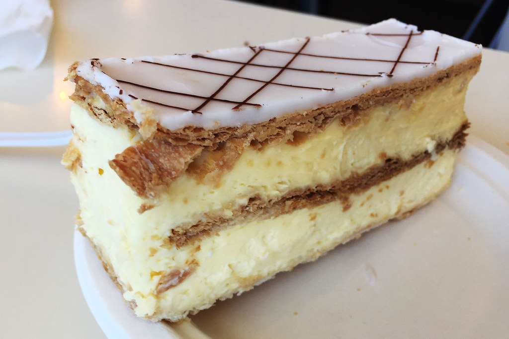 Vanilla slice, Trappers Bakery