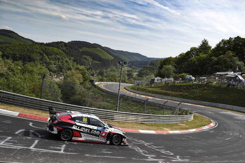 86 GUERRIERI Esteban (ARG), ALL-INKL.COM Munnich Motorsport, Honda Civic TCR, action during the 2018 FIA WTCR World Touring Car cup of Nurburgring, Nordschleife, Germany from May 10 to 12 - Photo Clement Marin / DPPI
