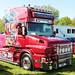 Barry Proctor Scania T124 X1BPS Peterborough Truckfest 2018