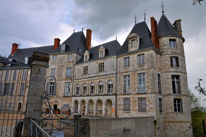 Château de Saint-Brisson-sur-Loire. Loire Valley, France
