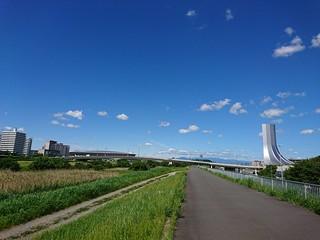 宮ケ瀬ダムまで125.28キロ