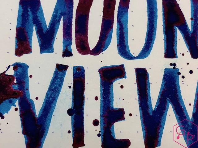 Krishna Inks Moonview Fountain Pen Ink Review @PenChalet 13