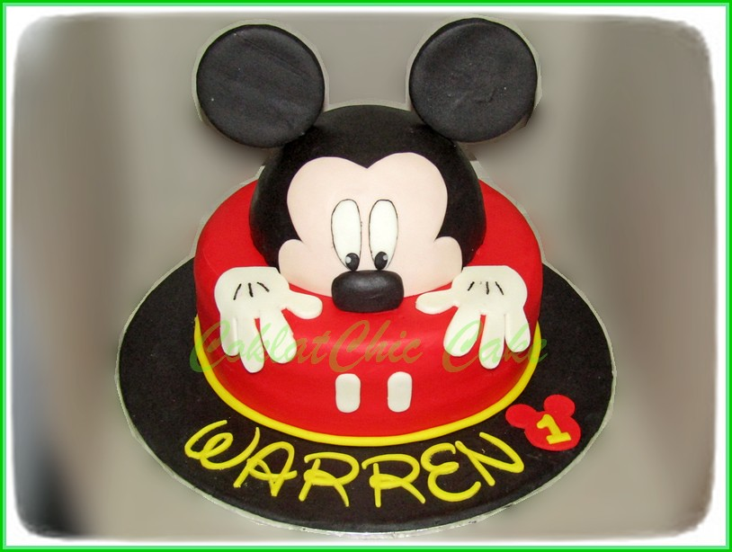 Cake Mickey Mouse WARREN 20 cm