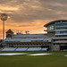 Trent Bridge Cricket Ground at sunset