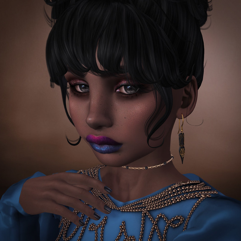 Sapphire Closeup