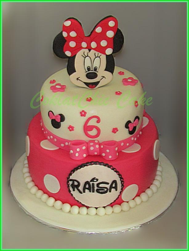 Cake Minnie Mouse RAISA 20 + 15 cm