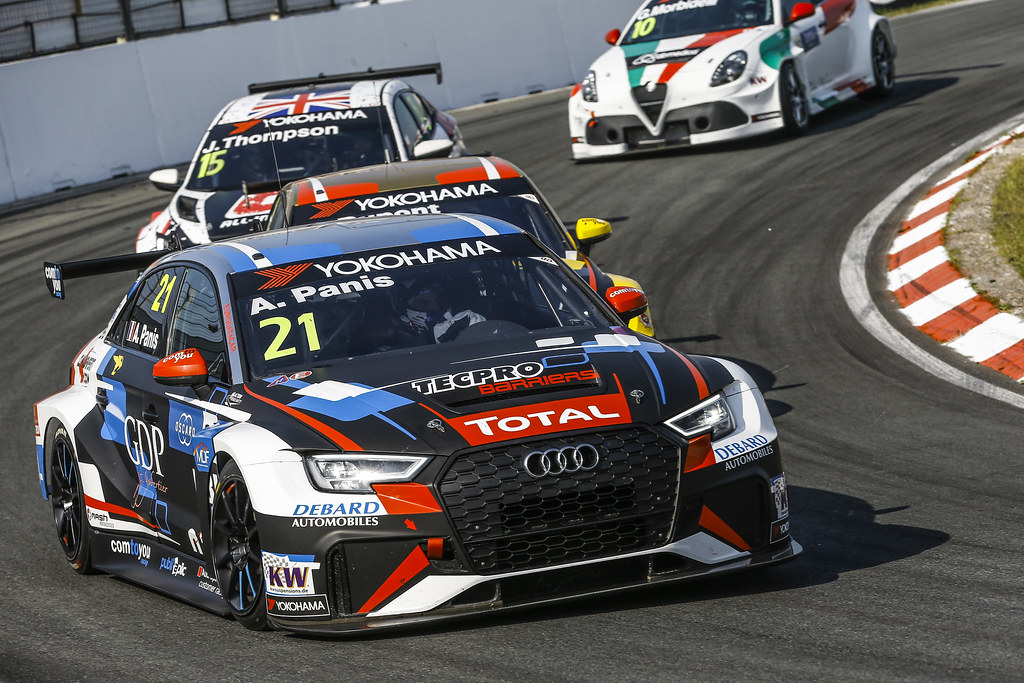21 PANIS Aurelien, (fra), Audi RS3 LMS TCR team Comtoyou Racing, action during the 2018 FIA WTCR World Touring Car cup of Zandvoort, Netherlands from May 19 to 21 - Photo Jean Michel Le Meur / DPPI