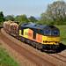 60085 6J37 Carlisle-Chirk Kronospan logs, Wilpshire 22.05.2018