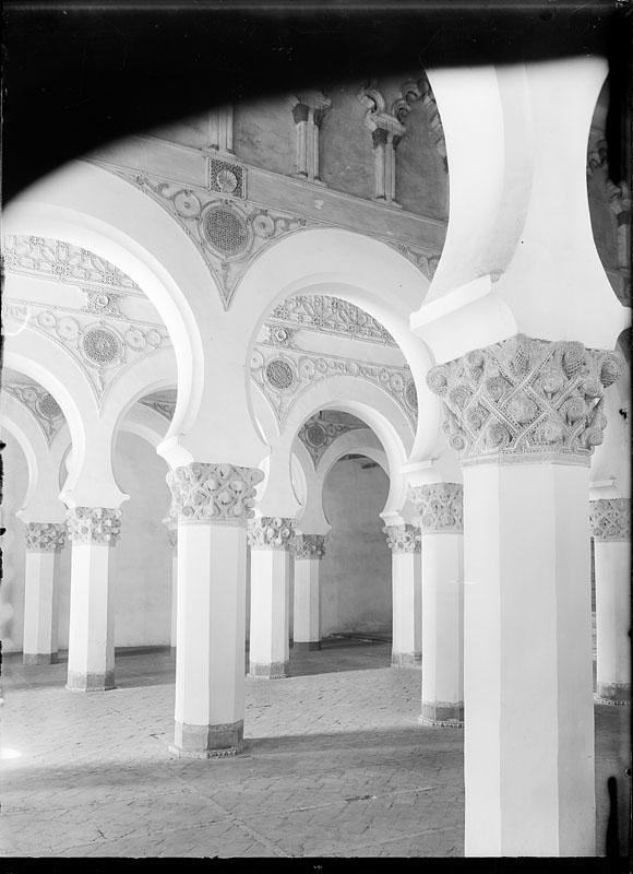 Sinagoga de Santa María la Blanca. Fotografía de Juan Miguel Pando Barrero © Fototeca del IPCE signatura PAN-014042_P