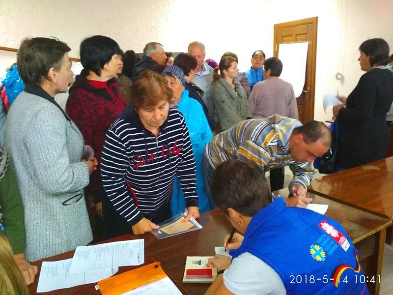 Робота Карітасу України на сході (травень 2018)