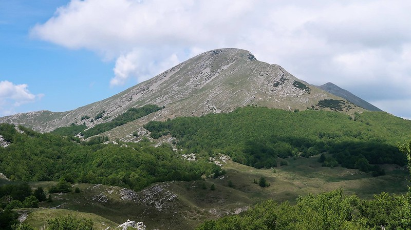 Sveto Brdo 1751 m, CROATIA, May 2018