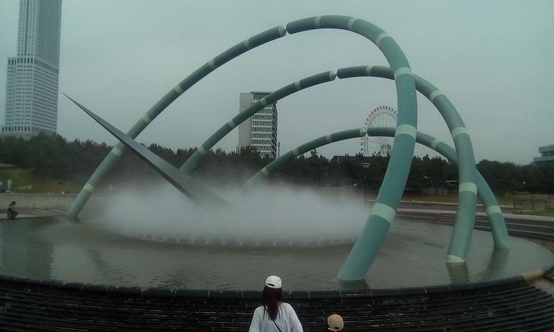 Shiki - no - Izumi, Fountain of the Four Seasons, Rinku, Osaka