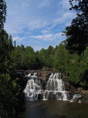 The High Falls at Gooseberry State Park