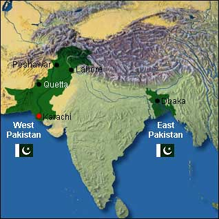 Pakistani Map 1947