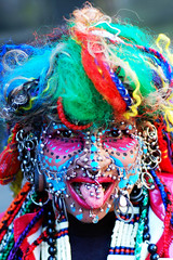 Elaine Davidson - Worlds most pierced woman