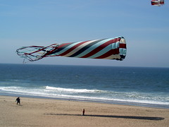 Huge kite at Lincoln City, Oregon