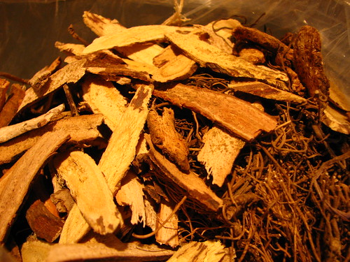 A special Chinese medicinal mix of 9 herbs, roots and such
