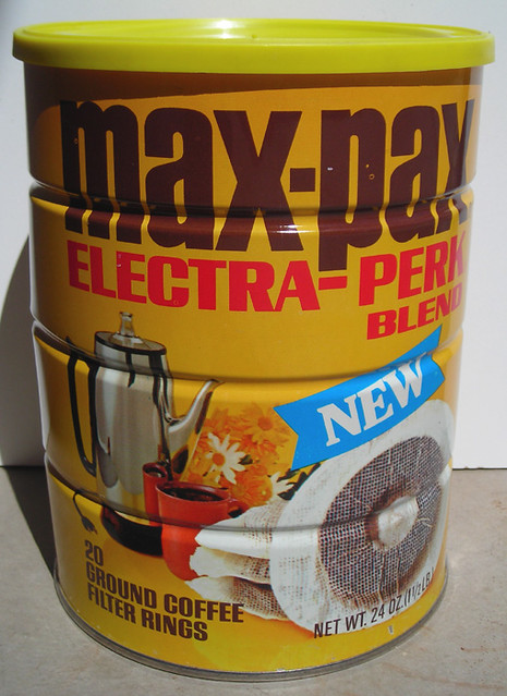 Max-Pax Coffee Can, 1960's