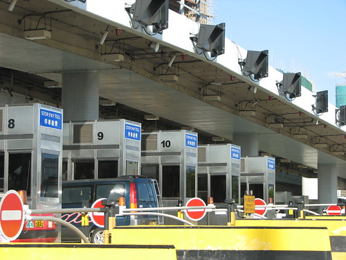 Toll Booths, Hong Kong