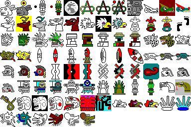 Aztec symbols | Flickr - Photo Sharing!