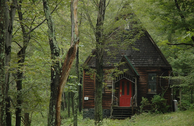 Creepy house in the woods flickr photo sharing - The house in the woods ...