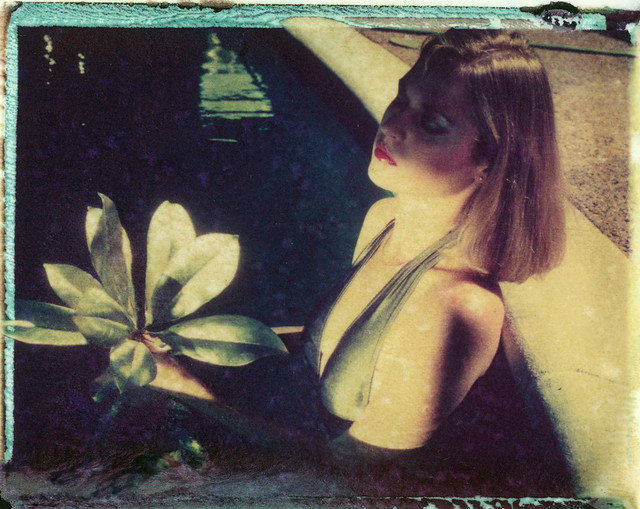 Polaroid image/emulsion transfers