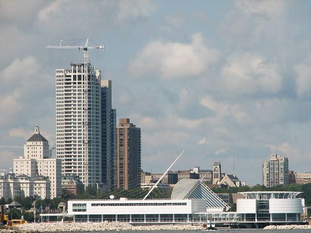 Milwaukee Viewed From Lake Michigan