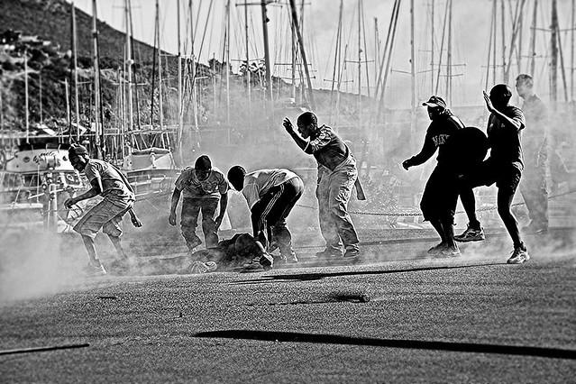 Photo:Riot By:Steve Crane