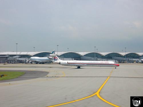 China Eastern MD-90 HKG