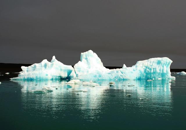 The frozen ship