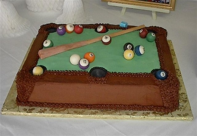 Chocolate Pool Cake