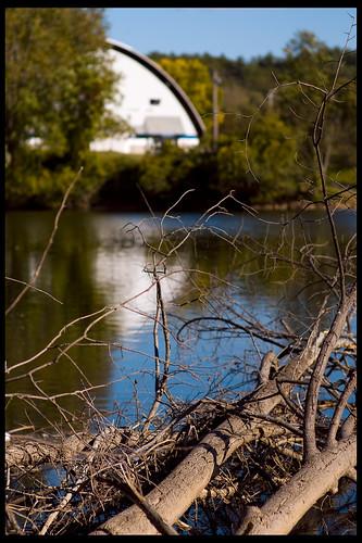 reflection river newhampshire concord merrimackriver 85mmf14d douglasneveretticeskatingarena