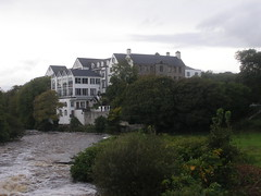 Downriver to The Falls Hotel