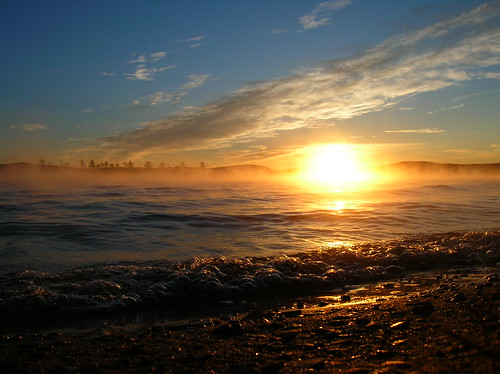 morning autumn light favorite mist lake nature water sunrise maine dramatic bubble coldstreampond