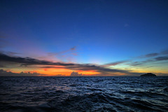 volcanic sunsets