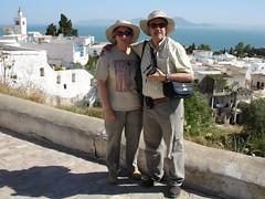 Glòria i Jordi a Sidi Bou Said