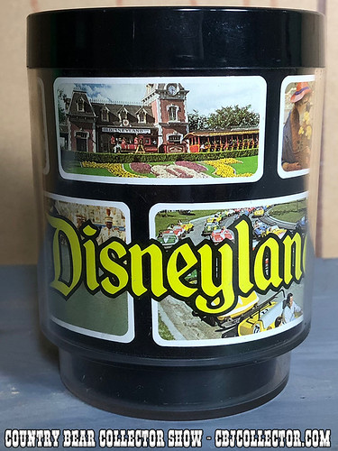 Vintage Disneyland Thermo-Srerv Plastic Mug - Country Bear Collector Show #146