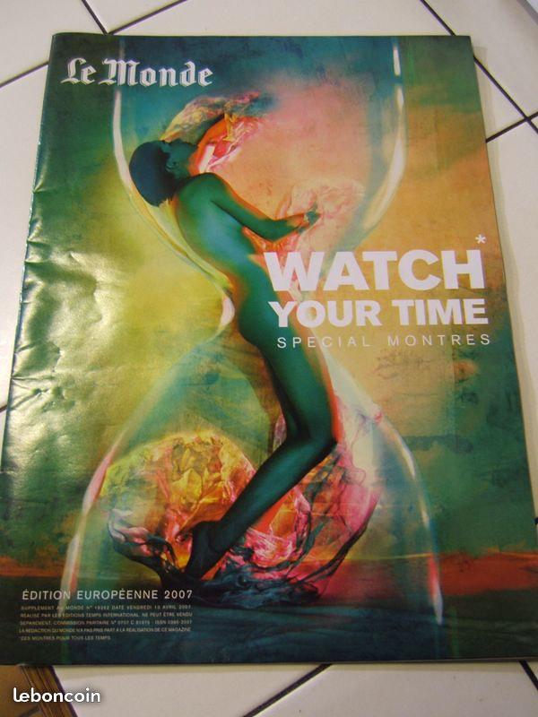Watch Your Time : supplément horlogerie du journal Le Monde 26994284677_22c64b6d93_c
