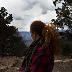 Checking out the Grand Canyon