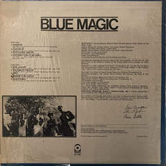 BLUE MAGIC:BLUE MAGIC(JACKET B)