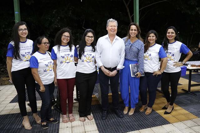 16.05.18 Prefeito Arthur neto participa de palestra para falar sobre Plano Diretor de Manaus aos acadêmicos de administração da UfAM