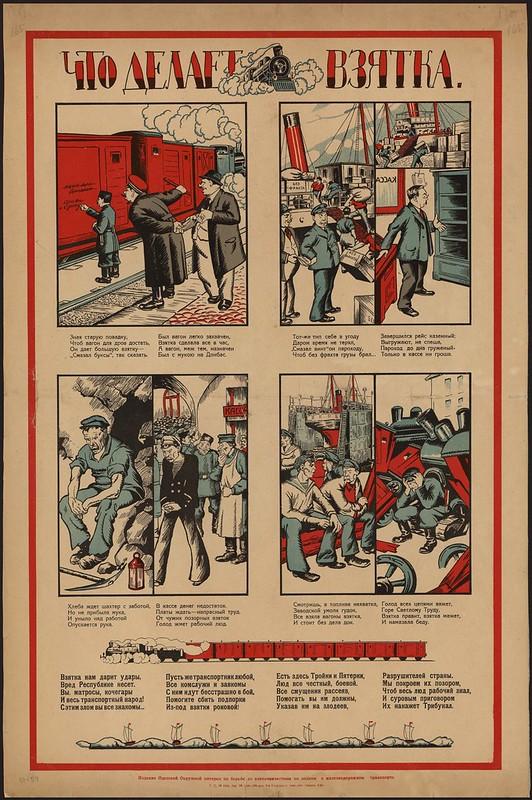 Советский плакат 1920-х