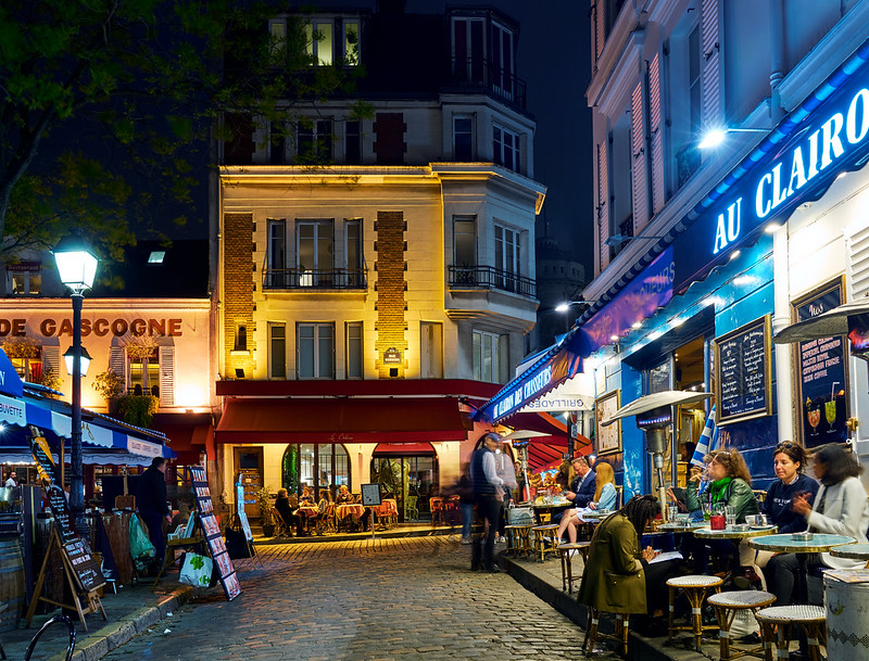 Montmartre Restaurants