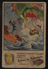 Vintage Card Collection Eucalol