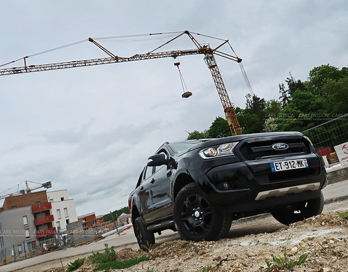 Essai Pickup Ford Ranger 4x4 Black edition 2018