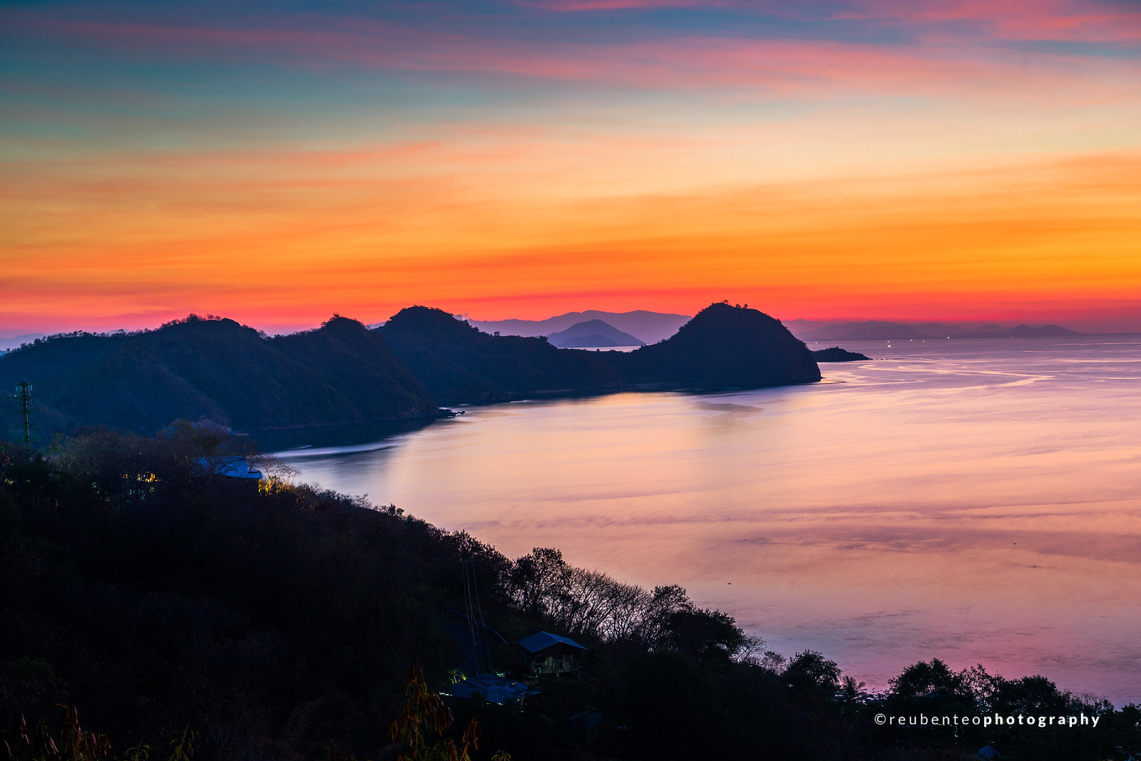 Labuan Bajo Sunset, Flores, Indonesia