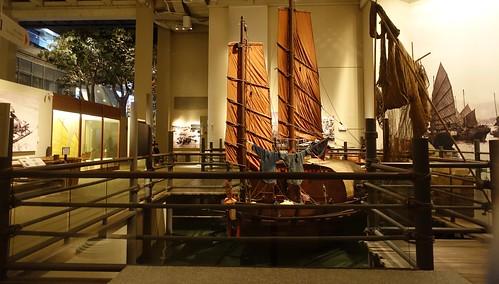 Hong Kong Port exhibit,  Hong Kong Museum of History. From History Comes Alive in Hong Kong