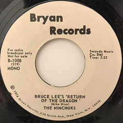 THE NINCHUKS:BRUCE LEE'S RETURN OF THE DRAGON(LABEL SIDE-B)